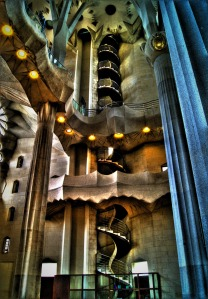 Sagrada Familia: staircase to... heaven?