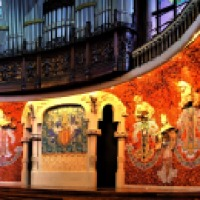 Palau de la Musica: the stage